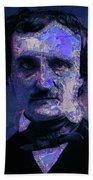 Edgar Allan Poe, Artsy 1 Bath Towel