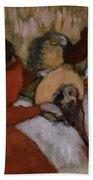 Edgar Degas - The Milliners - 1898 Bath Towel