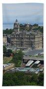 Edinburgh Castle View #3 Bath Towel
