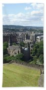 Edinburgh Castle View #6 Bath Towel