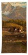 Edward Hill 1843-1923 Adamsons Ranch, Utah Bath Towel