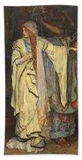 Edwin Austin Abbey 1852-1911 King Lear, Cordelias Farewell Bath Towel