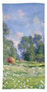 Effect Of Spring At Giverny Hand Towel
