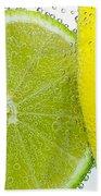 Effervescent Lime And Lemon By Kaye Menner Bath Towel