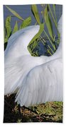 Egret Display Hand Towel