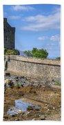 Eilean Donan Castle In Scotland Bath Towel