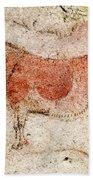 Ekain Cave Horse 2 Bath Towel