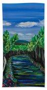 El Camino - El Verano - The Path - Summer Bath Towel