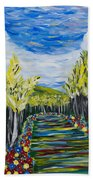 El Camino - Primavera - The Path - Spring Bath Towel