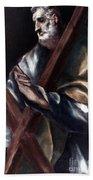 El Greco: St. Andrew Bath Towel