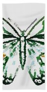 Election 2020 Presidential Candidate Catherien Lott Usa Green Butterfly Bath Towel