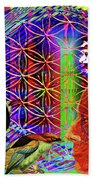 Electromagnetic  Bath Sheet by Joseph Mosley