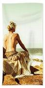 Elegant Classical Beauty  Bath Towel