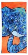 Elephant# 6 Bath Towel