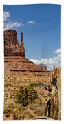 Elephant Butte - Monument Valley - Arizona Bath Towel