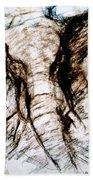 Elephant Charge Bath Towel