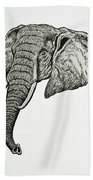 Elephant Head Bath Towel