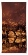 Elephants In The Clouds Hand Towel