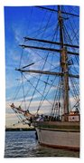 Elissa Sailing Ship Bath Towel
