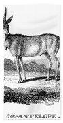 Elk Antelope Bath Towel