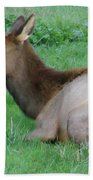 Elk Cow Bath Towel