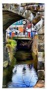 Ellicott City Bridge Arch Bath Towel