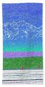 Elliott Bay Sail Bath Towel
