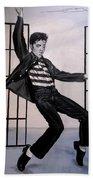 Elvis Presley Jailhouse Rock Bath Towel