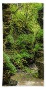 Emerald Gorge Bath Towel