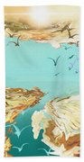 Emigration  Bath Towel