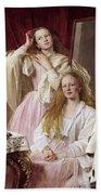 Emma And Federica Bankes Of Soughton Hall  Bath Towel