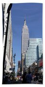 Empire State Of Mind In The Late Springtime Bath Towel