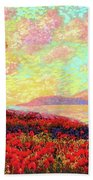 Enchanted By Poppies Bath Towel