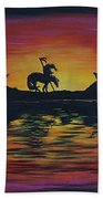 End Of The Trail Hand Towel