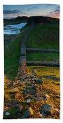 England, Northumberland, Hadrians Wall Bath Towel