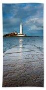 England, Tyne And Wear, Whitley Bay  Bath Towel