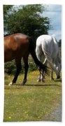 England - Wild Horses Bath Towel