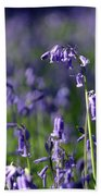 English Bluebells In Bloom Bath Towel