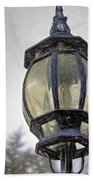 English Victorian Style Park Lamp Bath Towel