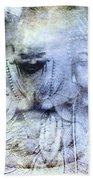Enlightenment Bath Sheet by M Montoya Alicea