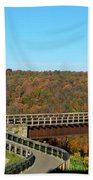 Enter The Kinzua Skywalk Bath Towel