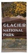 Entrance To Glacier Bath Towel