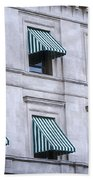 Escambia County Courthouse Windows Bath Towel