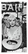 Estelle Winwood Marilyn Monroe Clark Gable Eli Wallach Montgomery Clift The Misfits Reno Nevada 1961 Bath Towel