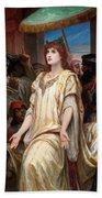 Esther Before Ahasuerus Bath Towel