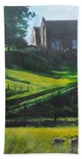 Evening In North Wales Bath Towel
