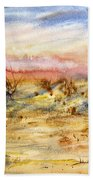 Evening On The Beach Bath Towel