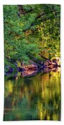 Evening On The Humber River Bath Towel