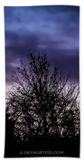 Evening Silhouettes  Hand Towel