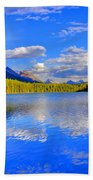 Evergreen Lake Bath Towel